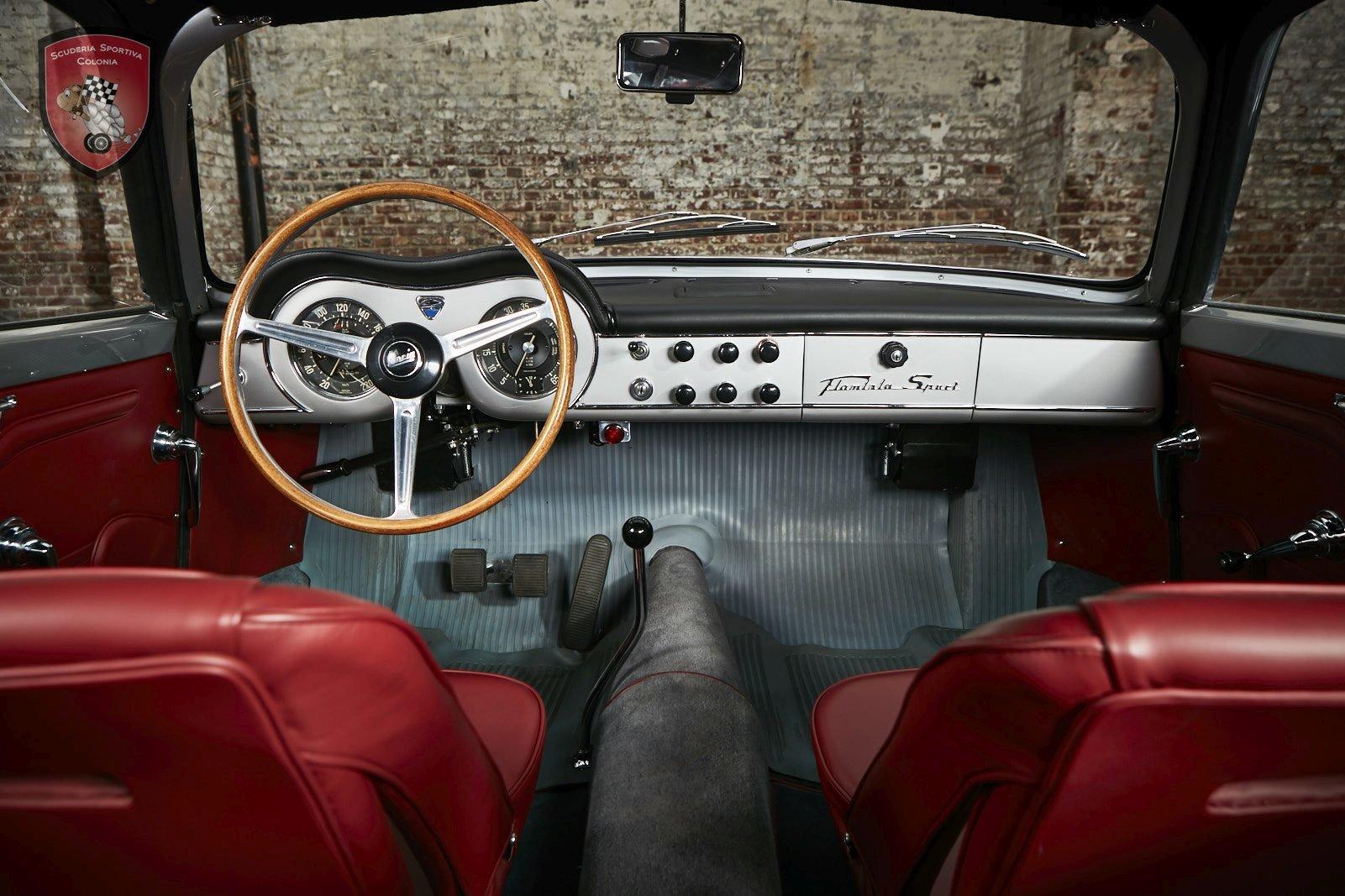 1962 Lancia Flaminia Sport Zagato 2,5 3C For Sale (picture 4 of 6)