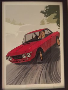 Lancia Fulvia 1.6HF with period rally preparation