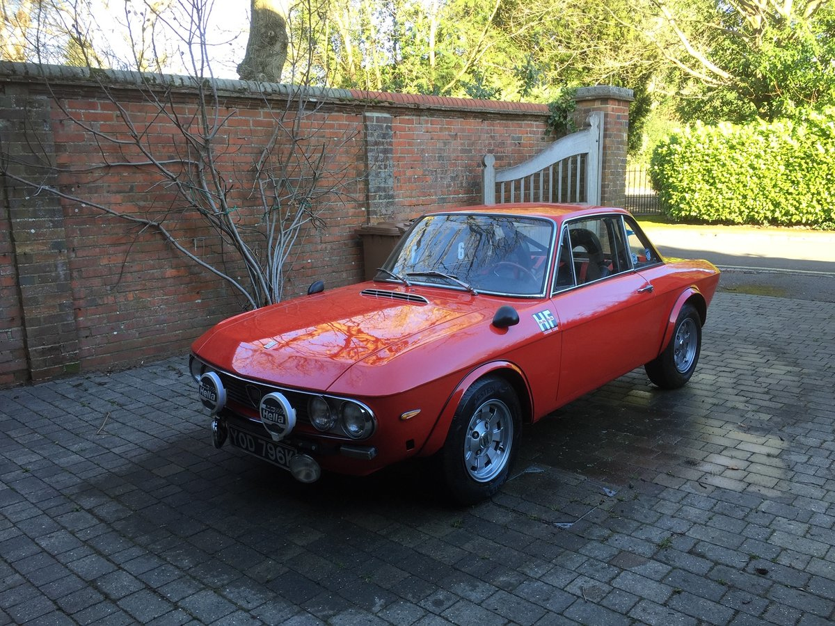 1971 Lancia Fulvia 1.6HF with period rally preparation For Sale (picture 1 of 6)