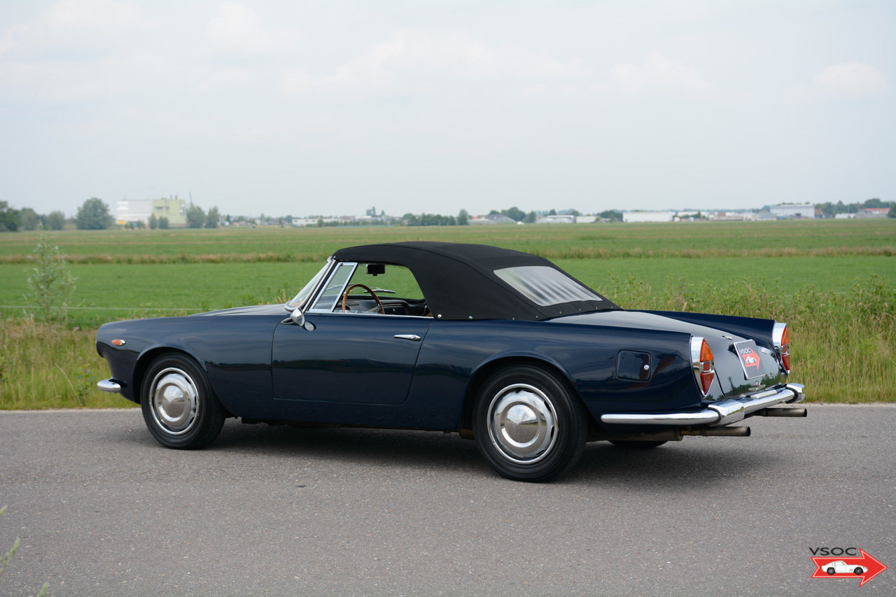 1961 Lancia Flaminia 2500 Touring Convertible - wonderful example For Sale (picture 3 of 6)