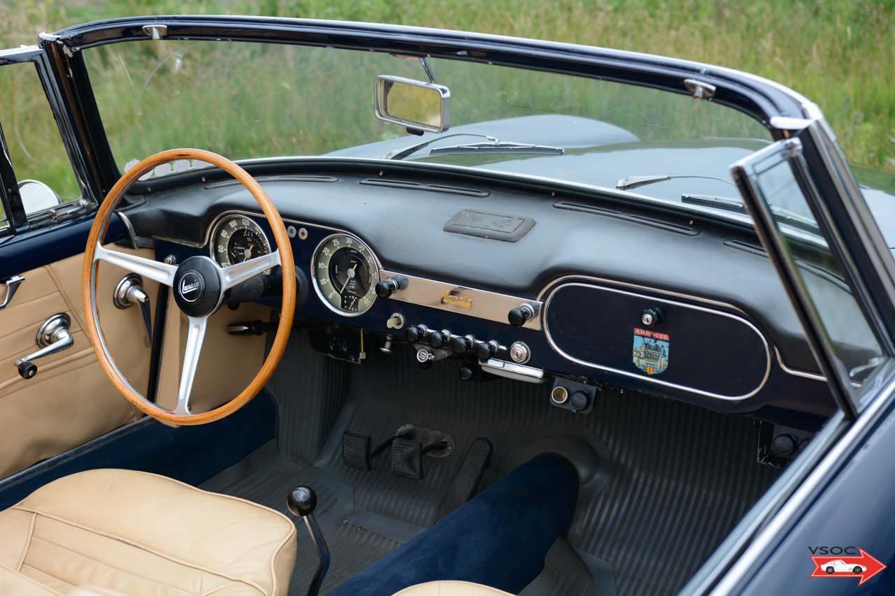 1961 Lancia Flaminia 2500 Touring Convertible - wonderful example For Sale (picture 5 of 6)