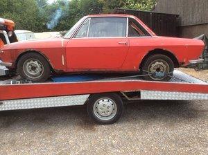 1969 Lancia Fulvia Series 1 Rallye S to restore-UK Car.