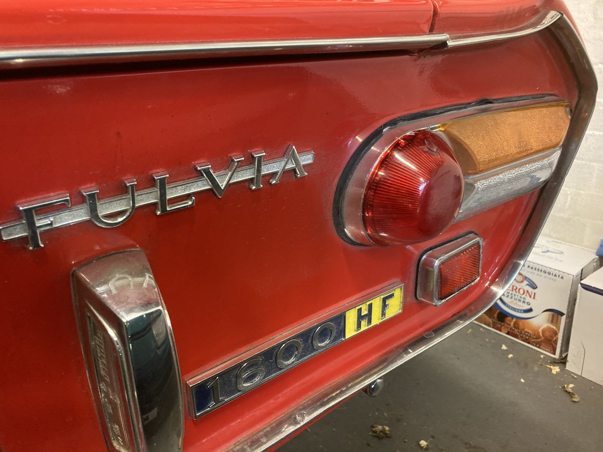 1971 Lancia Fulvia 1.6HF with period rally preparation For Sale (picture 2 of 6)