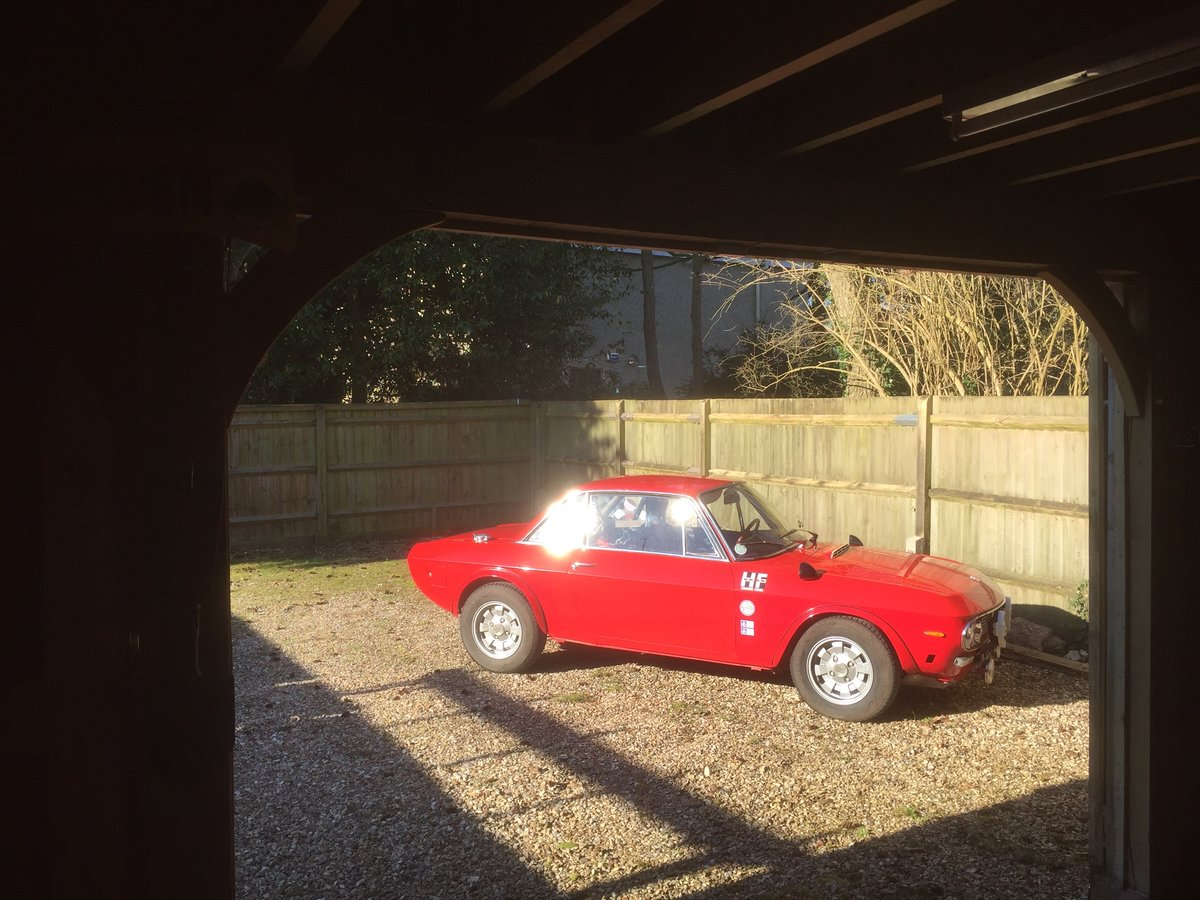 1971 Lancia Fulvia 1.6HF with period rally preparation For Sale (picture 5 of 6)