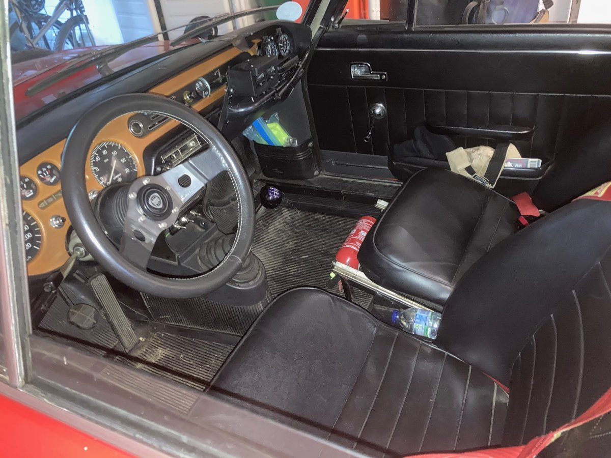 1971 Lancia Fulvia 1.6HF with period rally preparation For Sale (picture 6 of 6)