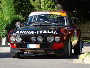1972 Lancia Fulvia 1.3 S, Peking to Paris #57 replica
