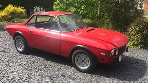 Lancia Fulvia Almost Restored.