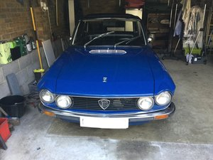 1976 Lancia Fulvia 1.3 RHD fully restored.