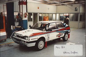 Picture of 1987 lancia delta integrale 8 v gr a first safari car