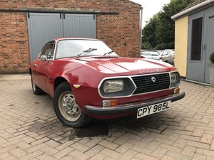 Lancia Fulvia Zagato 1300 S UK RHD Barn find
