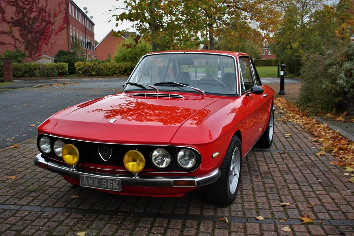 1972 Lancia Fulvia 1.3 Rallye Coupe - HF Cromadora Wheels SOLD (picture 1 of 6)