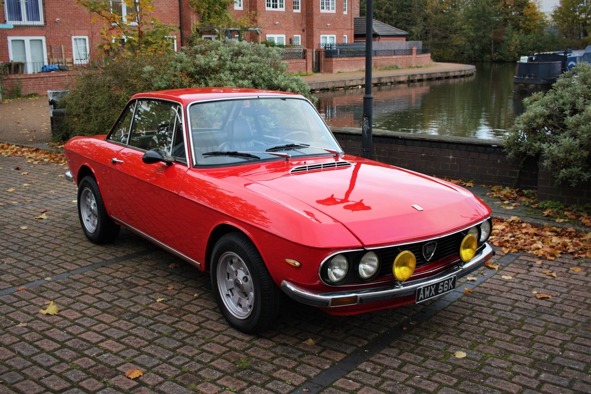 1972 Lancia Fulvia 1.3 Rallye Coupe - HF Cromadora Wheels SOLD (picture 2 of 6)