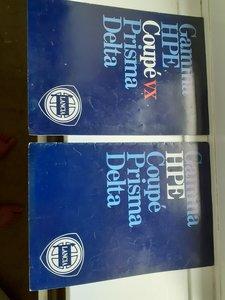 2 Lancia brochures