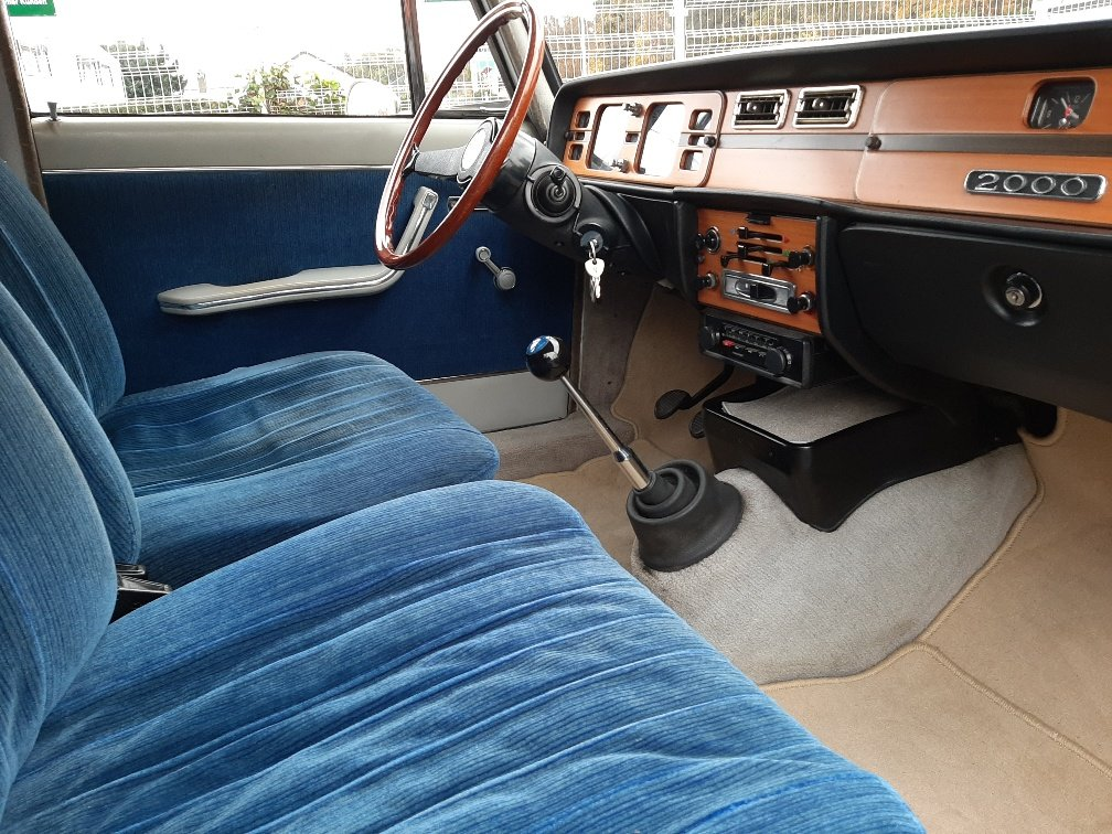 1973 A rare Lancia Berlina 2000 i.e. Type 820.416 with 18k km&apo For Sale (picture 4 of 12)