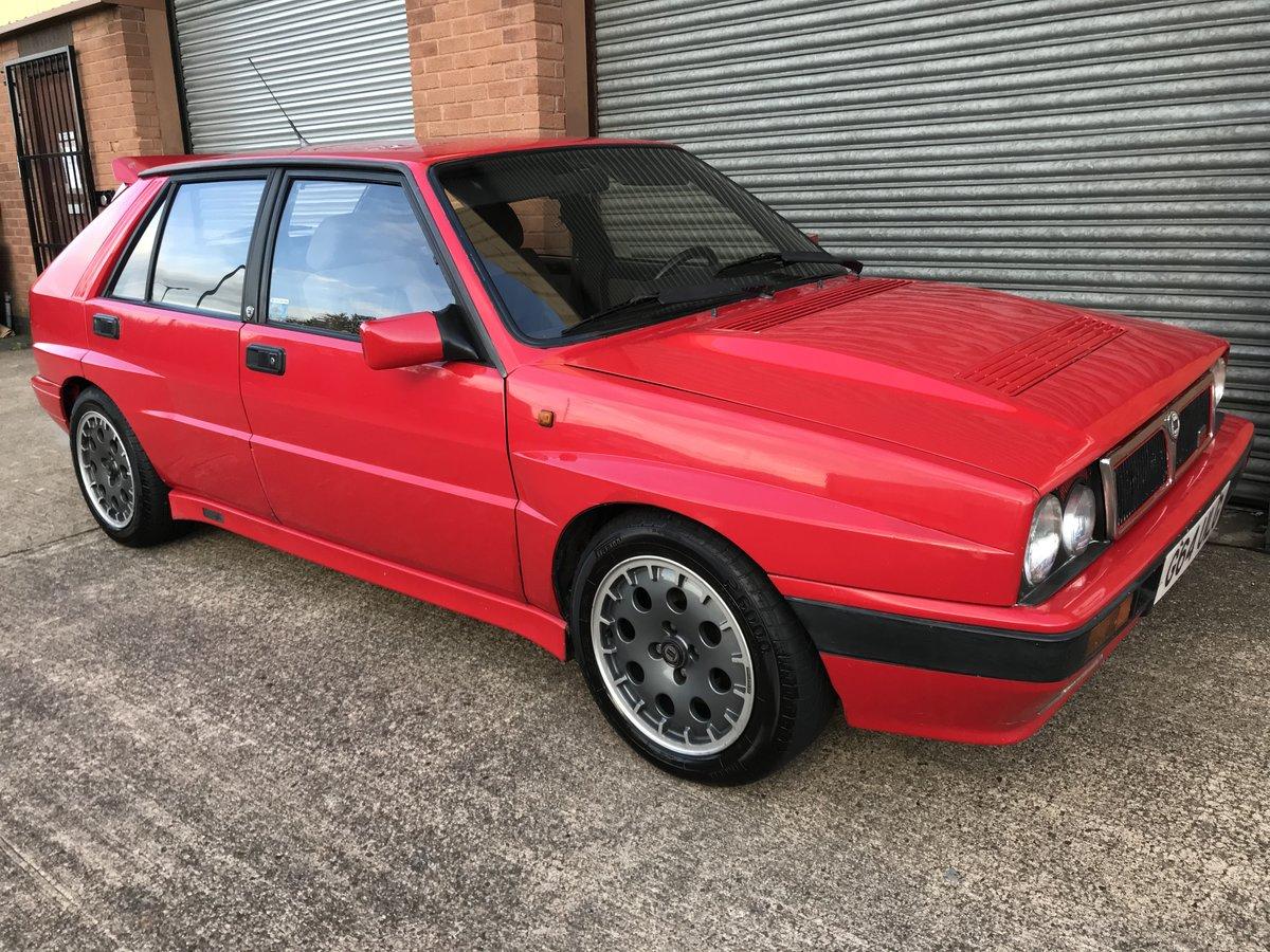 1989 LANCIA DELTA HF INTEGRALE 197BHP - RARE CAR - REBUILT ...
