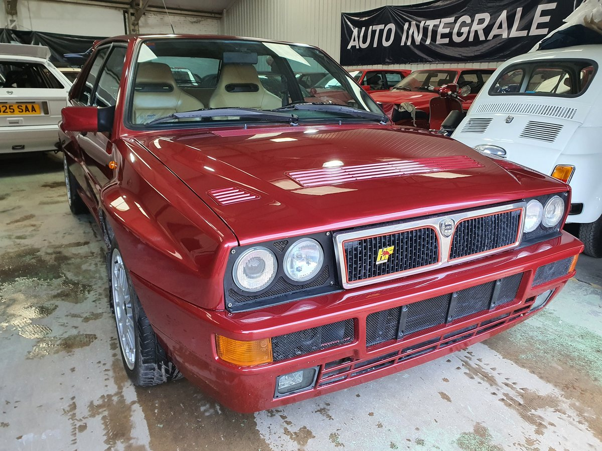 1995 Lancia delta Integrale Evo II Dealer Collection For Sale (picture 1 of 6)