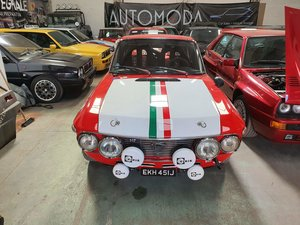 Picture of 1970 Lancia Fulvia 1600HF Fanalone Group 4 Rally Car For Sale