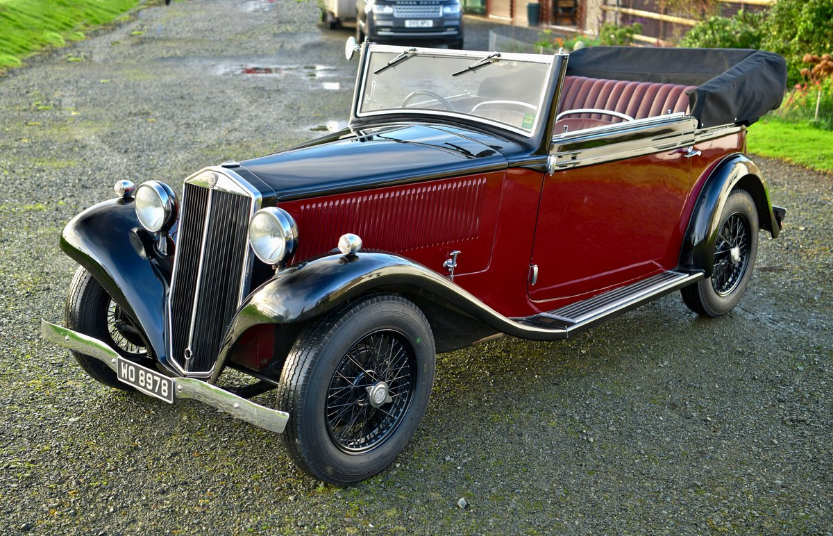 1934 Lancia Augusta Cabriolet For Sale (picture 1 of 12)