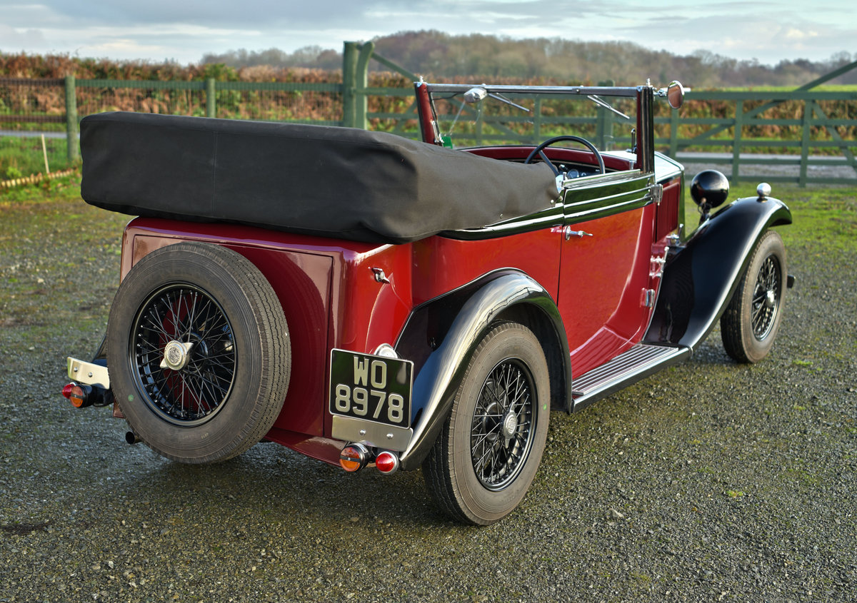 1934 Lancia Augusta Cabriolet For Sale (picture 5 of 12)