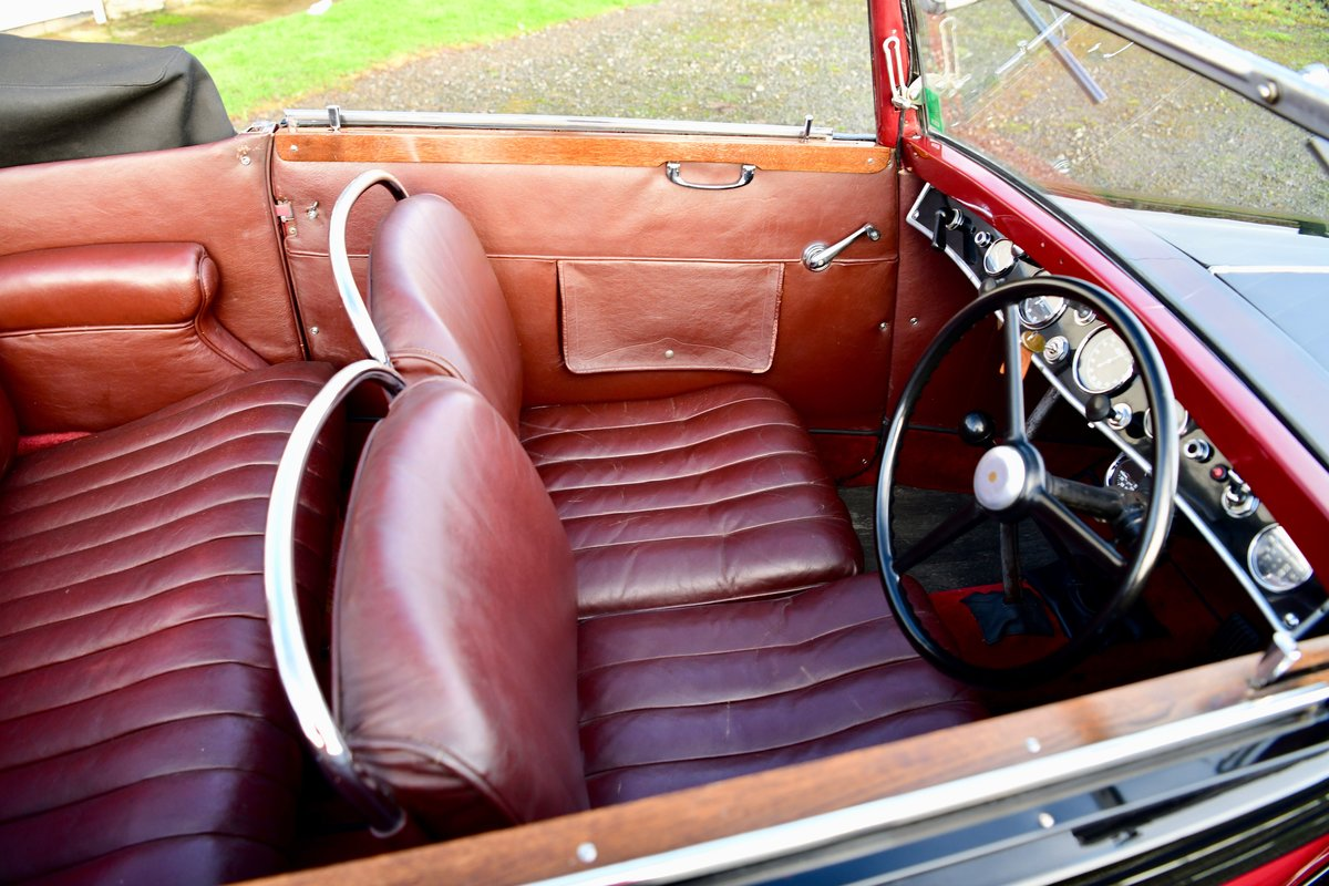 1934 Lancia Augusta Cabriolet For Sale (picture 11 of 12)