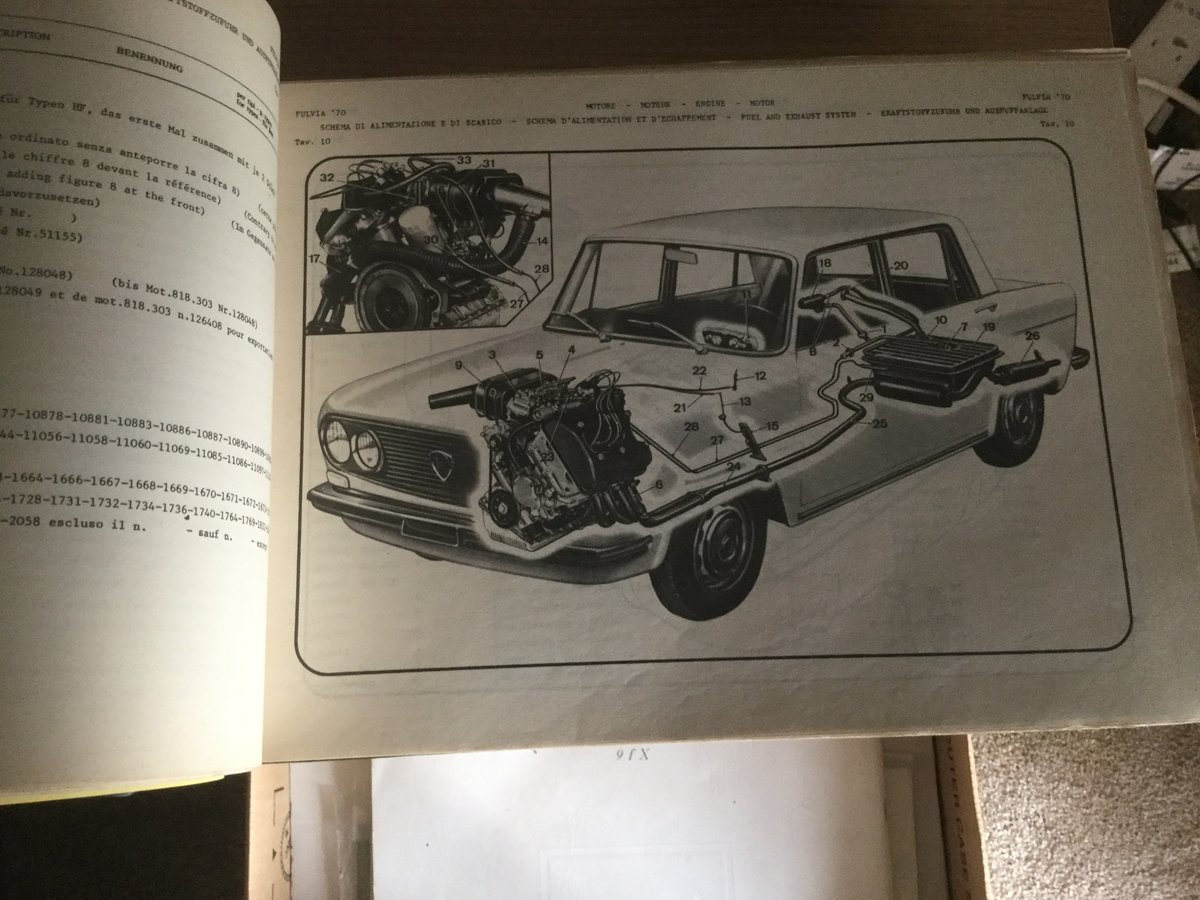 1972 very rare parts and numbers for the parts For Sale (picture 3 of 5)