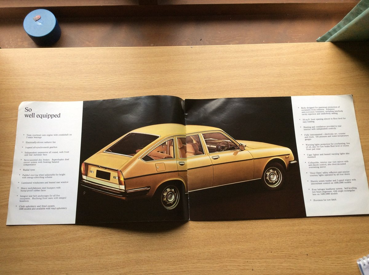 1978 Rare LANCIA BÊTA SALES BROCHURE For Sale (picture 2 of 4)