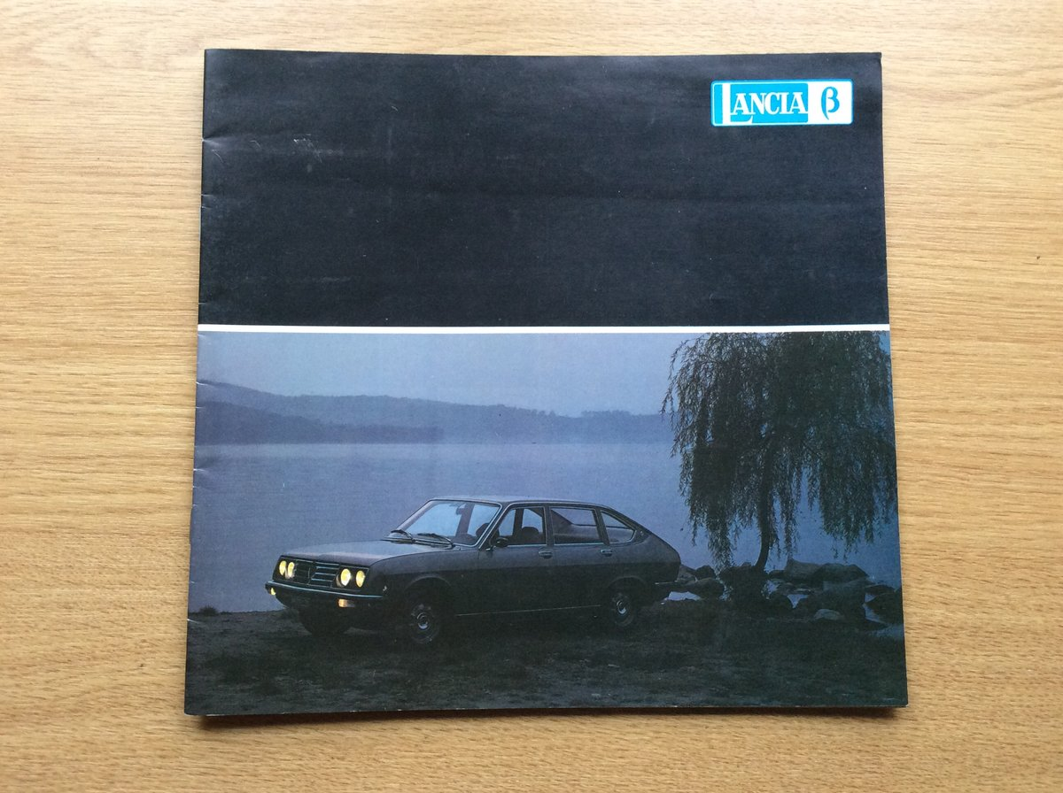 Sales brochure for Lancia beta For Sale (picture 1 of 2)