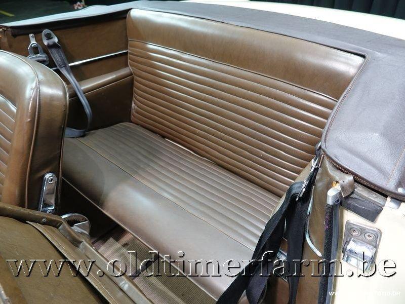 1963 Lancia Flavia Cabriolet Vignale 1.5 '63 For Sale (picture 10 of 12)