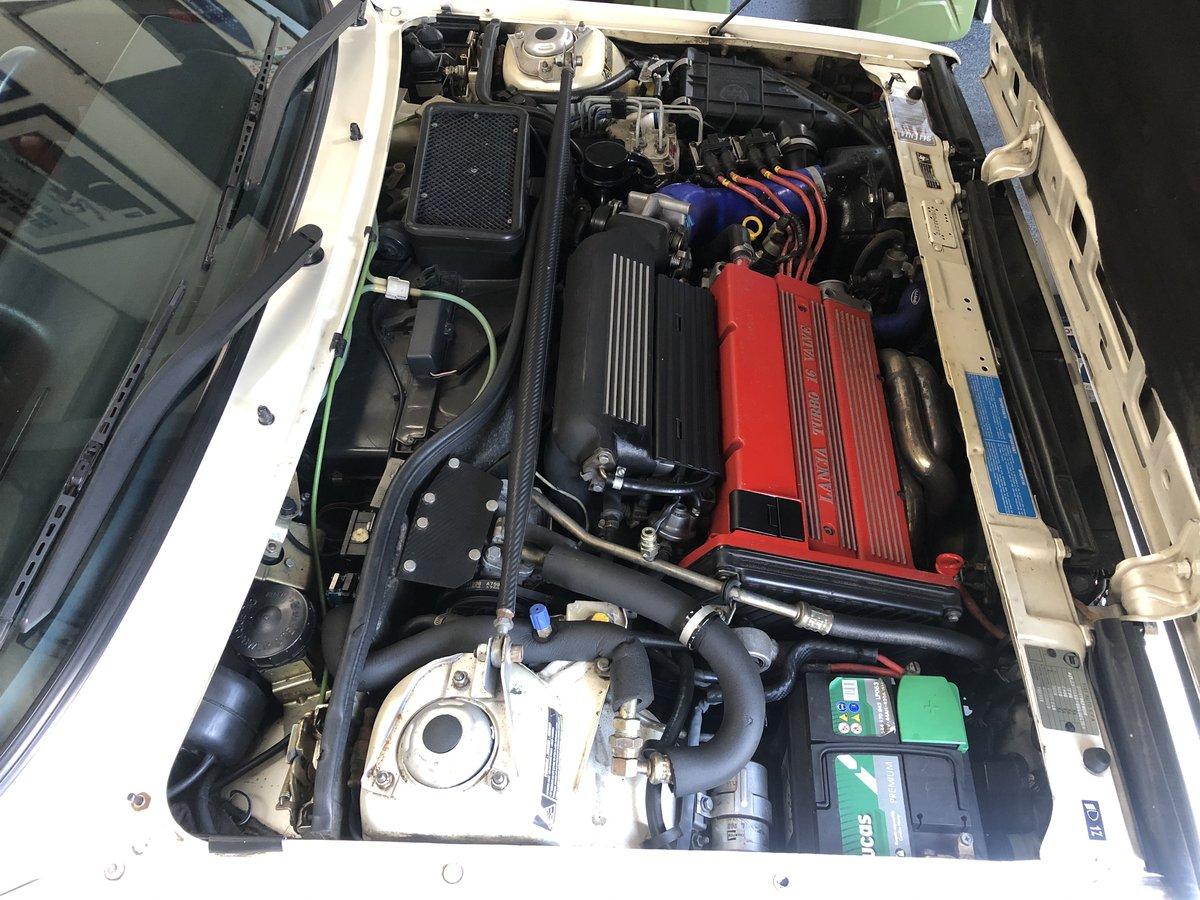 1989 Lancia Delta HF Integrale 'Bianco Perlato' SOLD (picture 12 of 12)