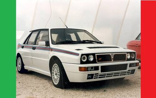 1992 Lancia Delta Integrale Evo II with Catalyzer. SOLD (picture 1 of 1)