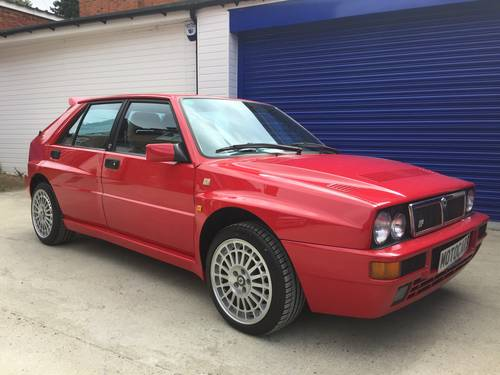 1995 Lancia Delta Integrale Evo 2 28k Miles  For Sale (picture 1 of 6)