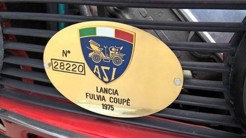 1975 Lancia Fulvia Series II Coupe 3 in Immaculate Condition For Sale (picture 3 of 6)