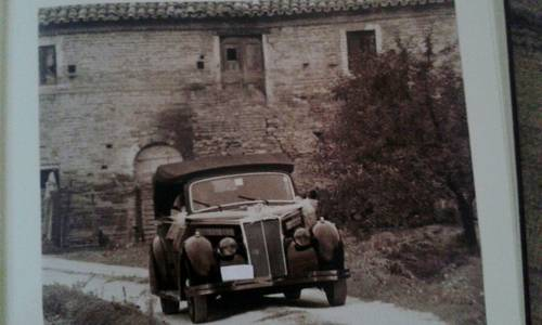 1941 Lancia Artena Ministeriale Cabriolet Italian WWII Staff Car  For Sale (picture 1 of 6)