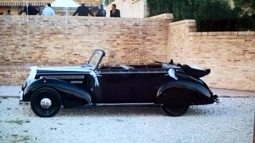 1941 Lancia Artena Ministeriale Cabriolet Italian WWII Staff Car  For Sale (picture 2 of 6)