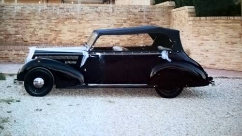 1941 Lancia Artena Ministeriale Cabriolet Italian WWII Staff Car  For Sale (picture 3 of 6)