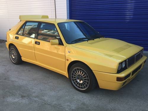 1994 Lancia Delta Integrale Evo 2 Giallo Ginestra For Sale (picture 2 of 6)