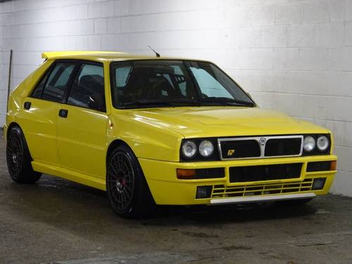 1995 Lancia Delta 2.0 EVOLUTION II GINSTER YELLOW 5dr MODIFIED +  For Sale (picture 1 of 6)