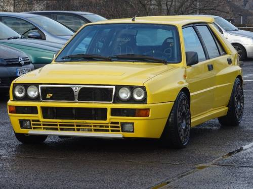 1995 Lancia Delta 2.0 EVOLUTION II GINSTER YELLOW 5dr MODIFIED +  For Sale (picture 5 of 6)