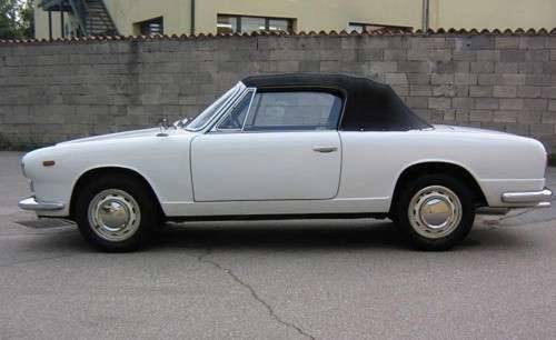 1964 Lancia Flavia Convertible For Sale (picture 2 of 5)