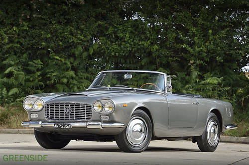 1963 Rare Lancia Flaminia 3C Convertible LHD SOLD (picture 1 of 6)