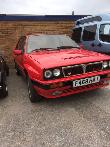 1988 Lancia integrale 8v For Sale (picture 1 of 2)