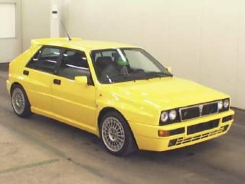 1994 lancia delta evo 2 gialla ginestra For Sale (picture 1 of 1)