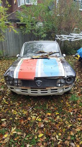 1975 Lancia Fulvia Project For Sale (picture 1 of 6)