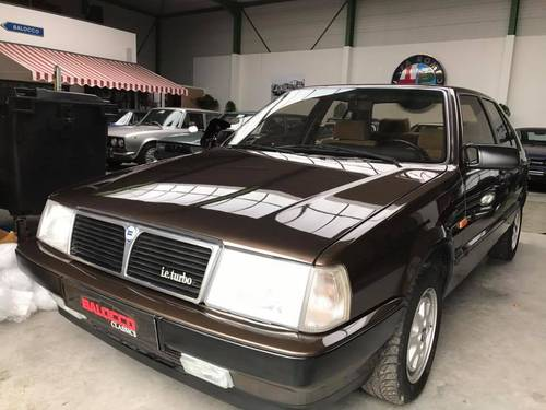 SALE!!! Stunning 1986 Lancia Thema 2.0 Turbo ie. 1 owner For Sale (picture 1 of 6)