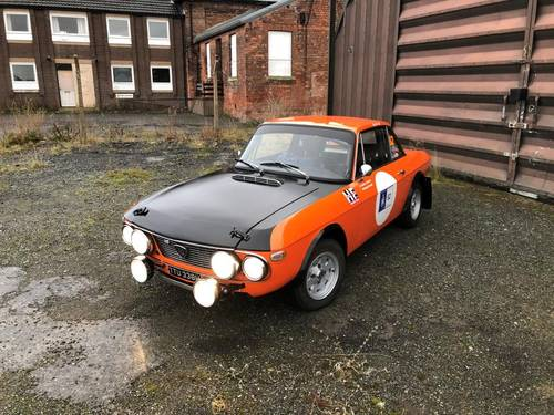 "1970 Lancia Fulvia 1600 HF ""Fanalone"" Rally car SOLD (picture 1 of 6)"