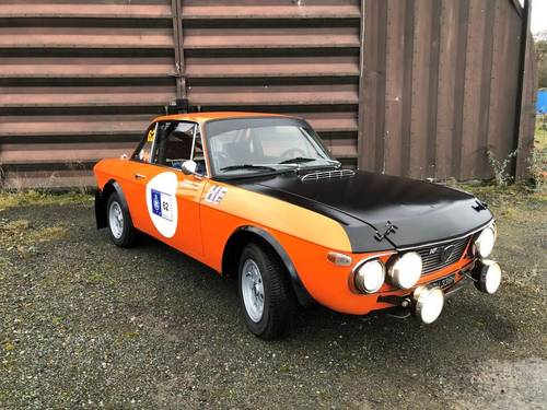 "1970 Lancia Fulvia 1600 HF ""Fanalone"" Rally car SOLD (picture 2 of 6)"