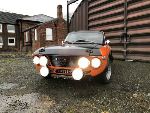 "1970 Lancia Fulvia 1600 HF ""Fanalone"" Rally car SOLD (picture 3 of 6)"