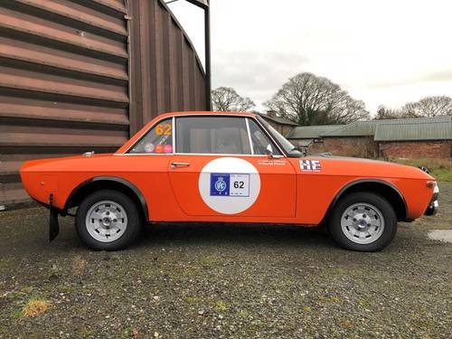 "1970 Lancia Fulvia 1600 HF ""Fanalone"" Rally car SOLD (picture 6 of 6)"