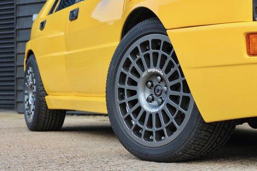1994 A ''Giallo Ginestra'' Lancia Delta Integrale Evo 2 For Sale (picture 5 of 6)