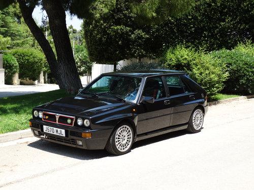 1992 Lancia Delta Integrale Evolutione 1, ex-Alberto Tomba SOLD (picture 2 of 6)